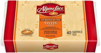 Alpine Lace® Swiss Reduced Fat Slices Deli Cheese