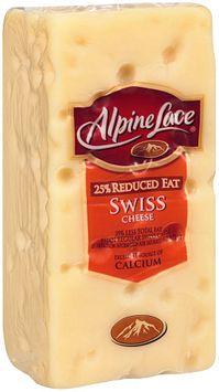 Alpine Lace® 25% Reduced Fat Swiss Cheese Brick
