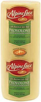 Alpine Lace® Provolone W/Smoke Flavor Reduced Fat Deli Cheese 1 Ct Brick