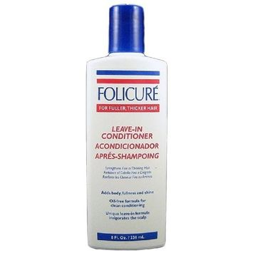 Folicure Leave-In Conditioner, 8 Ounce