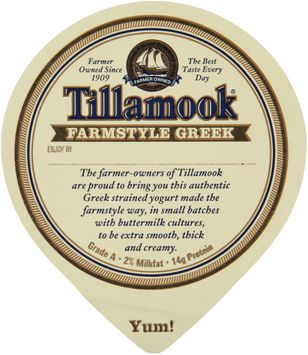 Tillamook® Farmstyle Greek Old Fashioned Vanilla Strained Yogurt