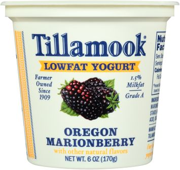 Tillamook® Oregon Marionberry Lowfat Yogurt