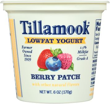 Tillamook® Berry Patch Lowfat Yogurt