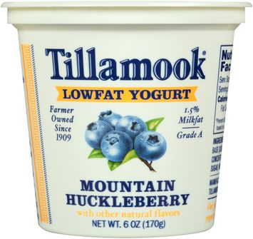 Tillamook® Mountain Huckleberry Lowfat Yogurt