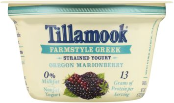 Tillamook® Oregon Marionberry Farmstyle Greek Strained Nonfat Yogurt