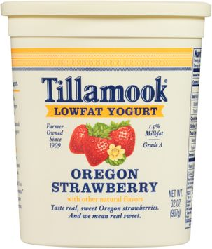 Tillamook® Oregon Strawberry Lowfat Yogurt
