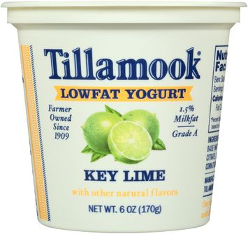 Tillamook® Key Lime Lowfat Yogurt