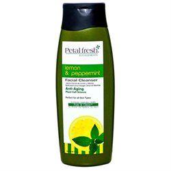 Petal Fresh Organics Lemon & Peppermint Facial Cleanser