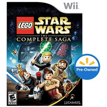 Lucas Arts Lego Star Wars-Complete Saga (Wii) - Pre-Owned