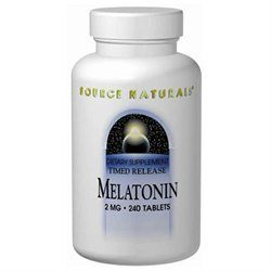 Source Naturals Melatonin Timed Release - 2 mg - 60 Tablets