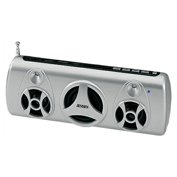 Jensen Portable Stereo Speaker with FM Radio SMPS-575