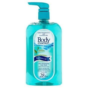 Body Essence Tea Tree Oil Ultra-Moisturizing Conditions and hydrates skin Body Wash - 24 Oz (pack of 12)