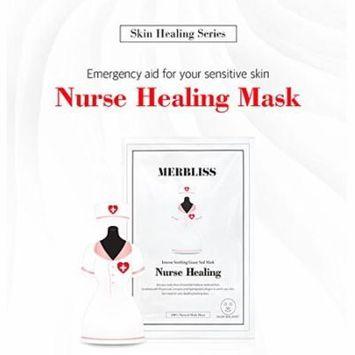 Merbliss Nurse Healing Gauze Seal Mask 5 sheets