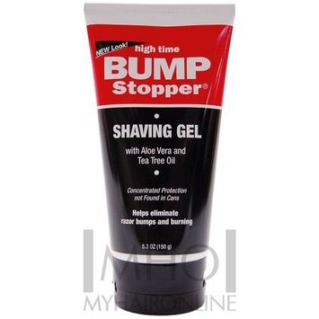 High Time Bump Stopper Shaving Gel with aloe vera & Tea Tree oil [Pack of 3]