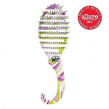 Wet Brush Shower Detangler, Green/Purple, 3.2 Ounce