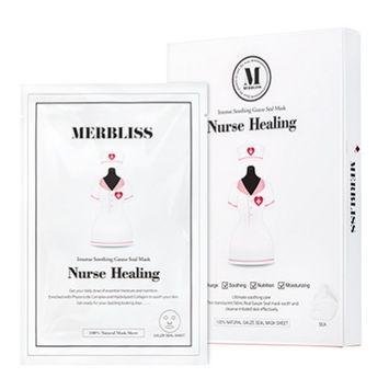 Merbliss Nurse Healing Gauze Seal Mask 8 ounces (5 sheets)