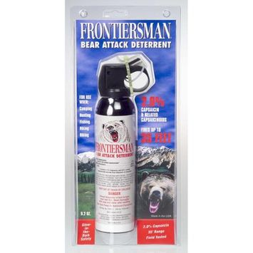 Security Equipment Corp Security Equipment 371370 9.17 Oz. Bear Spray without Wand O Holster