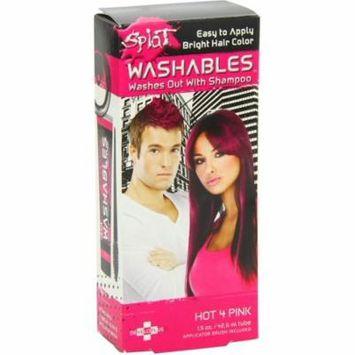 6 Pack - Splat Washables Hair Color, Hot 4 Pink 1.50 oz