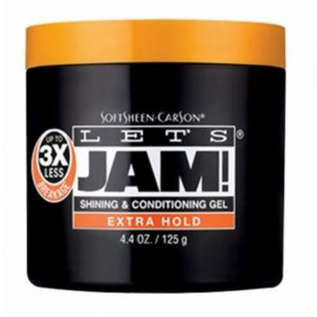 3 Pack - Lets Jam! Shining & Conditioning Gel Extra Hold, 4.4 oz