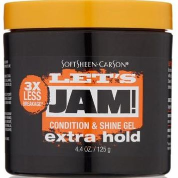6 Pack - Let's Jam! Condition & Shine Gel, Extra Hold 4.40 oz