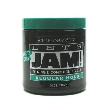 Let's Jam Shine & Conditioning Gel 14 oz. (3-Pack) with Free Nail File