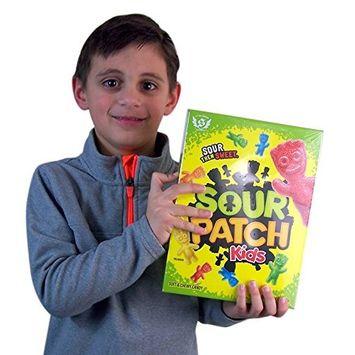 Sour Patch Kids Soft and Chewy Candy Big Box, 14 Ounces