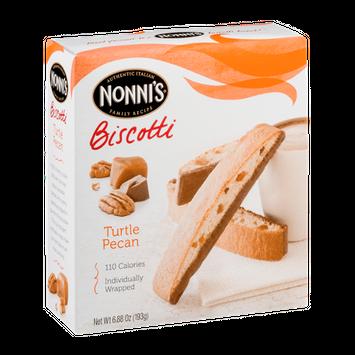Nonni's Biscotti Turtle Pecan
