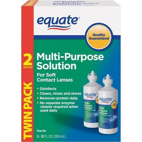 Equate - Multi-Purpose Contact Lenses Solution