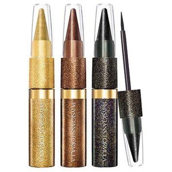 Physicians Formula® Shimmer Strips Custom Eye Enhancing Kohl Kajal + Liquid Liner Trio Extreme Shimmer - Disco Glam