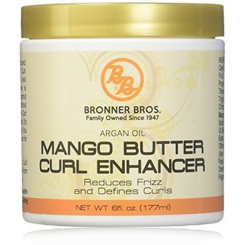 Bronner Bros Mango Butter Curl Enhancer, 6 Ounce