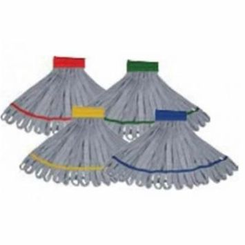 UNG ST450GRECT Heavy Duty Microfiber String Mop, Green - Pack of 5