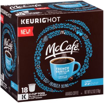 McCafe French Vanilla Coffee K-Cup® Pods 18 ct Box
