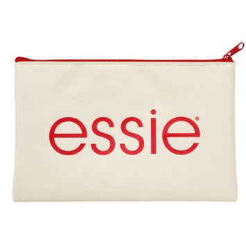 Online Only FREE Cosmetic Bag w/any $18 Essie nail purchase