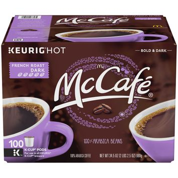 McCafe French Roast Coffee, K-CUP Pods