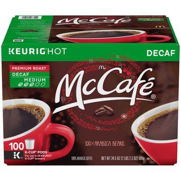 McCafe Premium Roast Decaf Coffee, K-CUP PODS