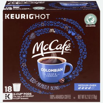 McCafe Colombian Coffee K-Cup Pods