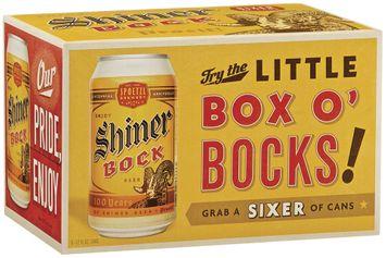 Shiner Bock Little Box O' Bocks! Beer