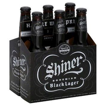 Shiner Bohemian Black Lager, 6 pack, 12 fl oz