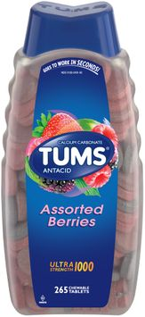 Tums® Ultra Strength 1000 Assorted Berries Antacid Calcium Carbonate Chewable Tablets