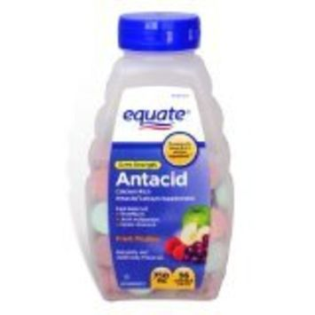 (2 pack) Equate Extra Strength Antacid Fruit Medley 750 mg 96 Chewable Tabs Compare to Tums EX from Equate