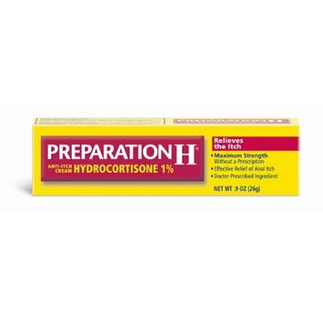 Preparation H Anti-Itch Cream with Hydrocortisone 1%
