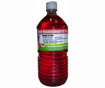 Songbird Essentials SE632 32 oz. Ready To Use Hummingbird Nectar - Red