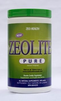 Zeo Health Zeolite Pure Highest Quality Zeolite Powder 400g