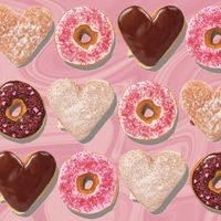 Dunkin' Donuts' New Donut is the Only Thing We Want for Valentine's Day