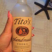 Tito's Handmade Vodka uploaded by Robin B.