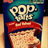 Kellogg's Pop-Tarts Frosted Red Velvet Toaster Pastries uploaded by Rebecca S.