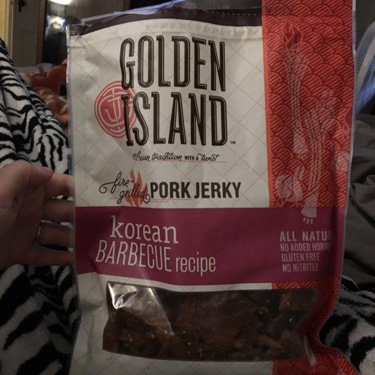 golden island™ korean barbecue recipe pork jerky
