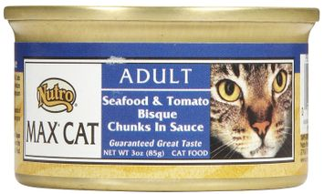 Nutro Max Canned Cat Food Seafood & Tomato Bisque