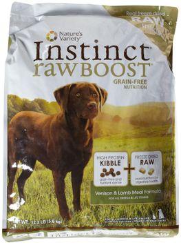 Natures Variety Nature's Variety Instinct Raw Boost Grain-Free Venison & Lamb Dry Food