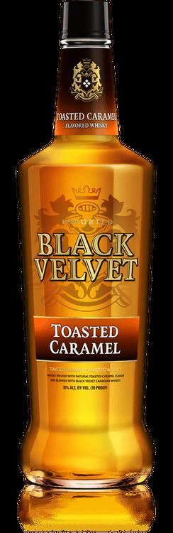 Black Velvet Toasted Caramel Canadian Whisky, 1.75 L Plastic ...